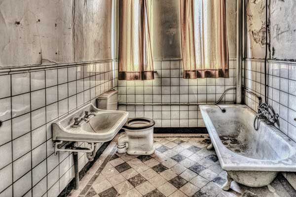 Entkernung von Badezimmern   DemontageProfi Darmstadt